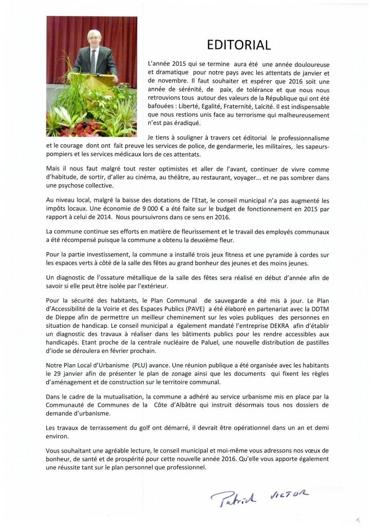 Bulletin municipal 2016 2