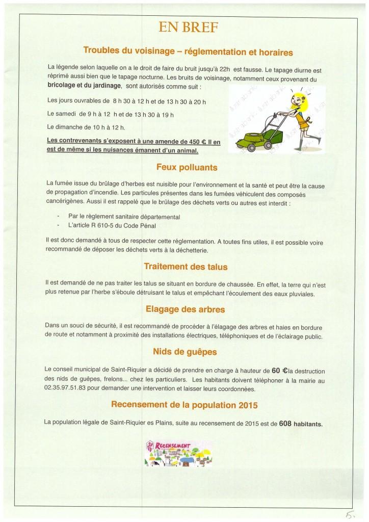 Bulletin municipal 2016 5