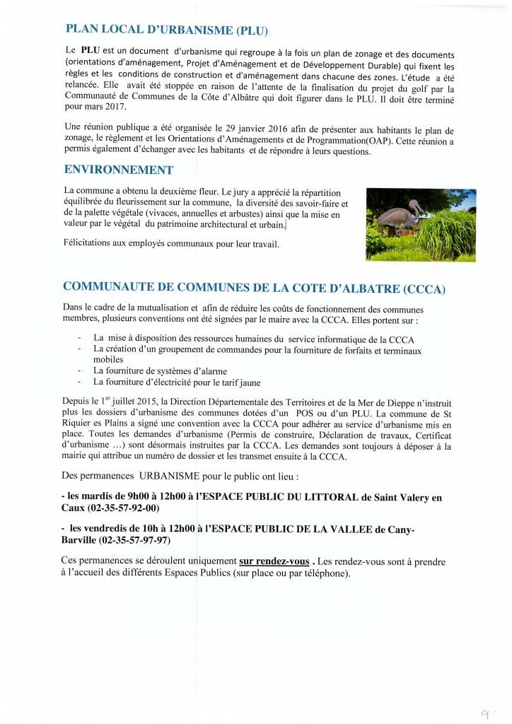 Bulletin municipal 2016 9