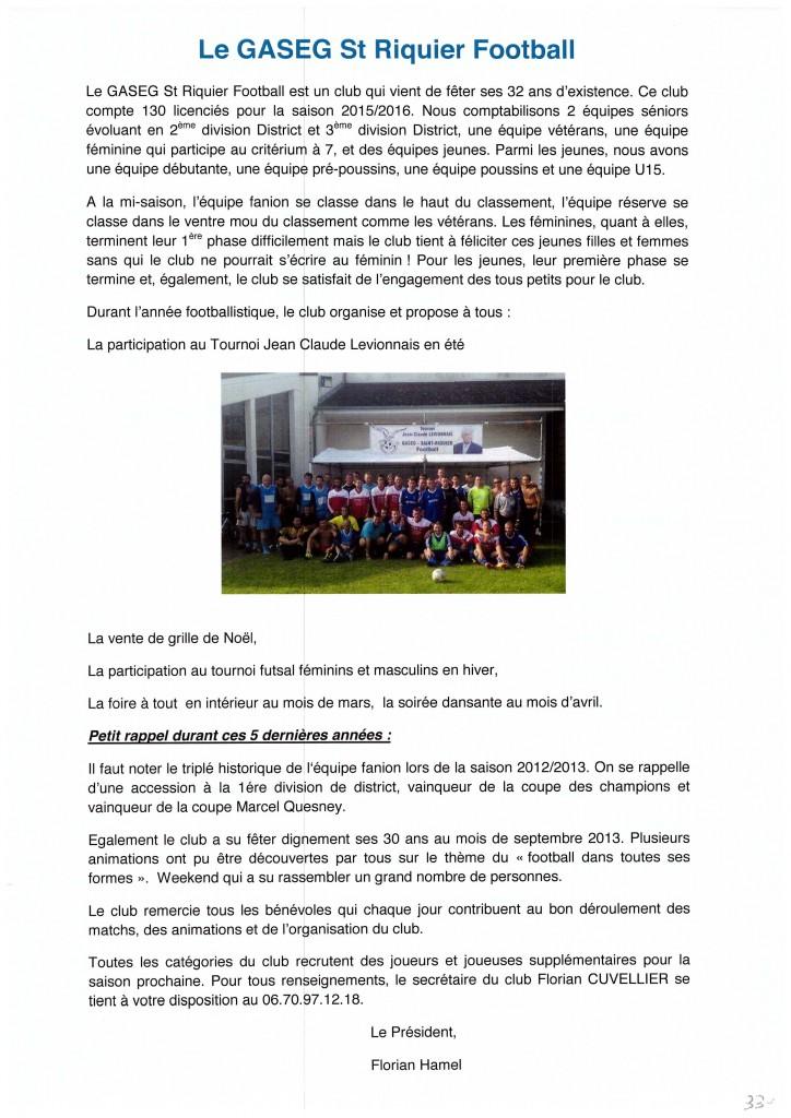 Bulletin municipal 2016 33