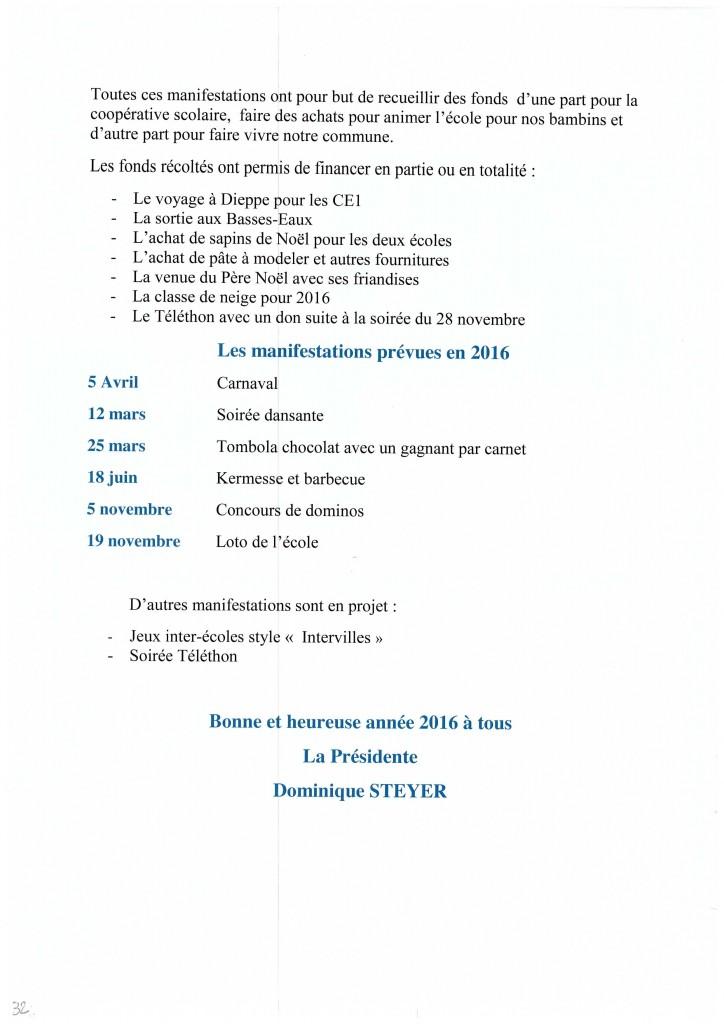 Bulletin municipal 2016 32