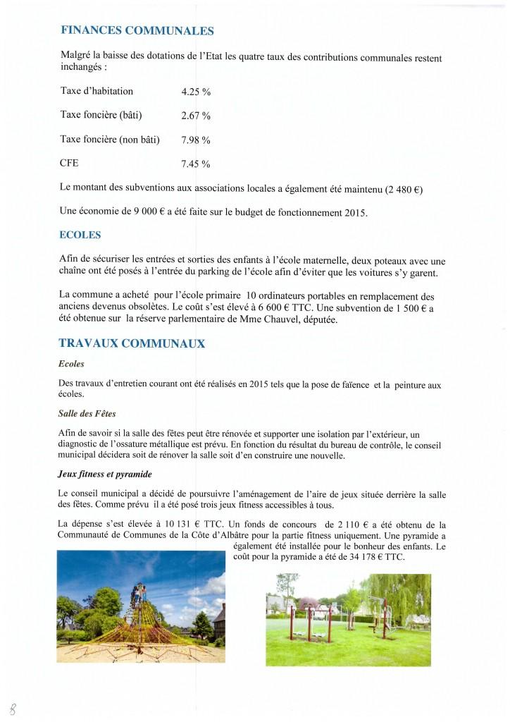 Bulletin municipal 2016 8