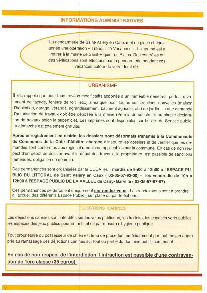 Bulletin municipal 2016 4