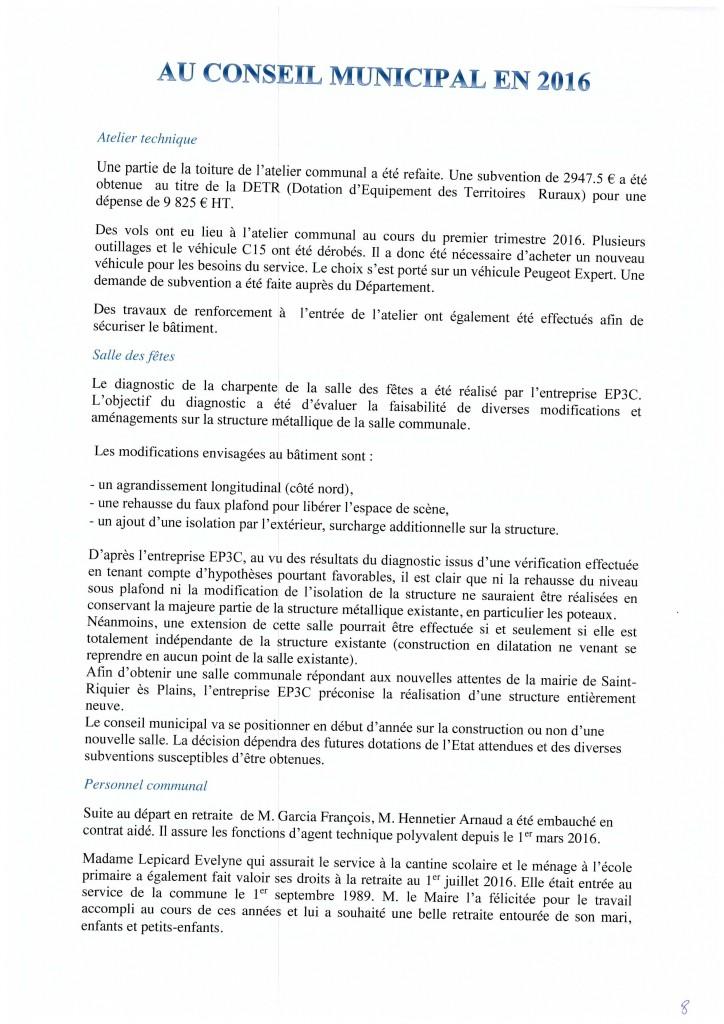 Bulletin municipal 2017 8
